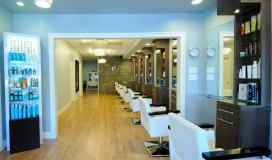 Inside view of e Day Spa and Salon